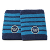 Win Well - French Open 4 Inch Wristband Navy/Blue 2 Pack - Win Well Tennis