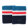 Win Well - US Open 4 Inch Striped Wristband 2 Pack - Win Well Tennis