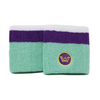 Win Well Wimbledon 3 inch wristband Green/Purple/White 2 pack