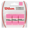 Wilson - Pro Perforated Overgrip 3 Pack Pink - Win Well Tennis