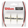 Wilson - Pro Perforated Overgrip 3 Pack White - Win Well Tennis