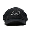 Win Well Performance Cap Black - Win Well Tennis