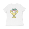Win Well- Wimbledon Trophy Boyfriend Tee - Win Well Tennis