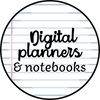 digital planners and notebooks