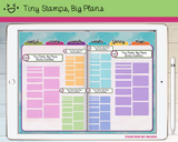 Digital Stickers - Digital stickers - pastel highlight boxes - Tiny Stamps Big Plans