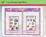Digital Stickers - Digital stickers - icon set 23 & 24 - Tiny Stamps Big Plans