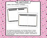 Digital Planner - Digital planner PDF - undated neutral - Tiny Stamps Big Plans