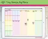 Digital Planner - Lined Tasks Digital PDF - Tiny Stamps Big Plans