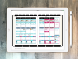 Digital planner PDF - undated neutral