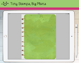 Digital Planner - Digital covers for Goodnotes planners - Watercolour - Tiny Stamps Big Plans