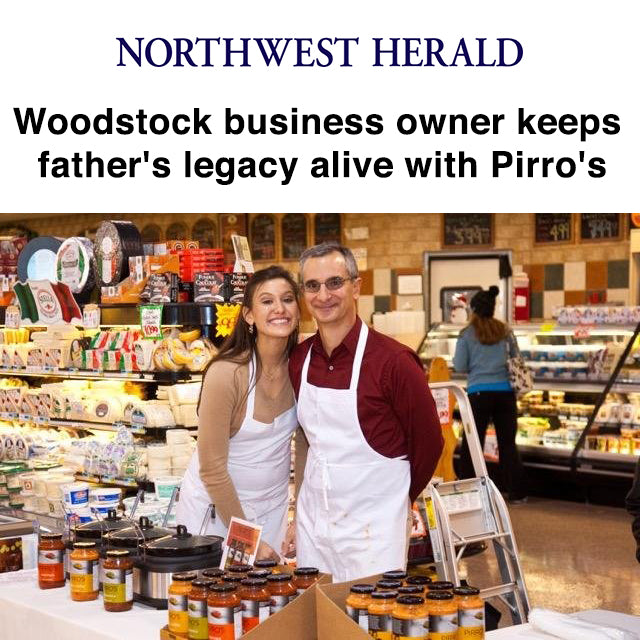 Woodstock business owner keeps father's legacy alive with Pirro's