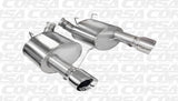 Corsa 11-14 Ford Mustang GT/Boss 302 5.0L V8 Polished Xtreme Axle-Back Exhaust
