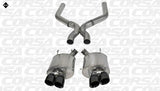 Corsa 13-13 Ford Mustang Shelby GT500 5.8L V8 Black Sport Axle-Back + XO Exhaust