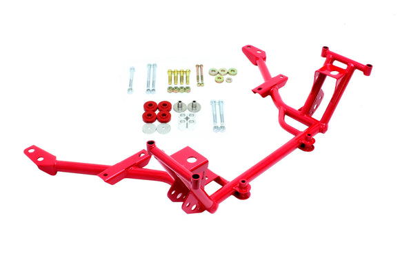 KM020 - K-member, Lowered Motor Mounts, Standard Rack Mountsnts, Standard Rack Mounts