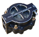 "CLEARVIEW FILTRATON 4"" HIGH FLOW FILTER FOR DRY SUMP APPLICATIONS"