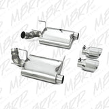 "MBRP 11 Ford Mustang GT 5.0 3"" Dual Muffler Axle Back Split Rear T304 Exhaust System"