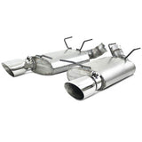 "MBRP 11-13 Ford Mustang GT 5.0 3"" Dual Muffler Axle Back Split Rear Alum Exhaust System"