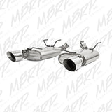 MBRP 11-12 Ford Mustang V6 Dual Muffler Axle Back Split Rear Alum Exhaust System