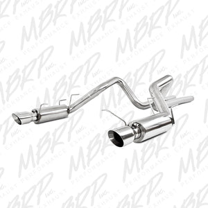 MBRP 11-14 Ford Mustang GT 5.0L Dual Split Rear Race Version T409 3