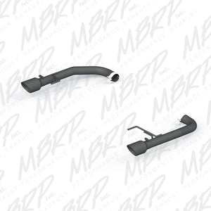 MBRP 2015-2017 Ford Mustang GT 5.0 2-1/2in Axle Back Kit - Black Coated 4in OD Tips Included