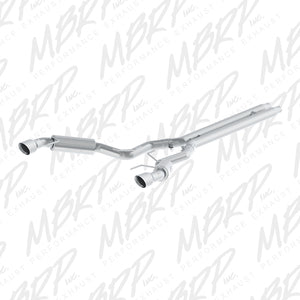 MBRP 15-17 Ford Mustang GT 5.0 3in Cat Back Dual Split Rear 4.5in Tip - T304