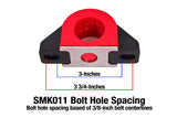 "SMK011 - Sway Bar Mount, Billet Aluminum, 1.5"" Poly Bushing"