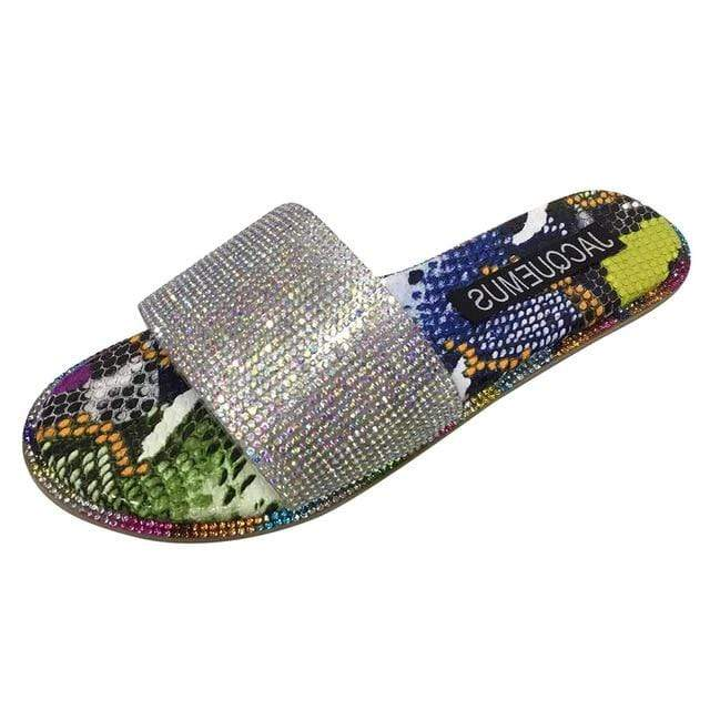Epicplacess.com shose Multi / 38 / United States They Don't Know Sandals -Multi Color
