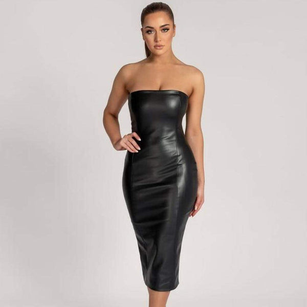 Epicplacess dress black / XS Ignore The Romance Midi Dress
