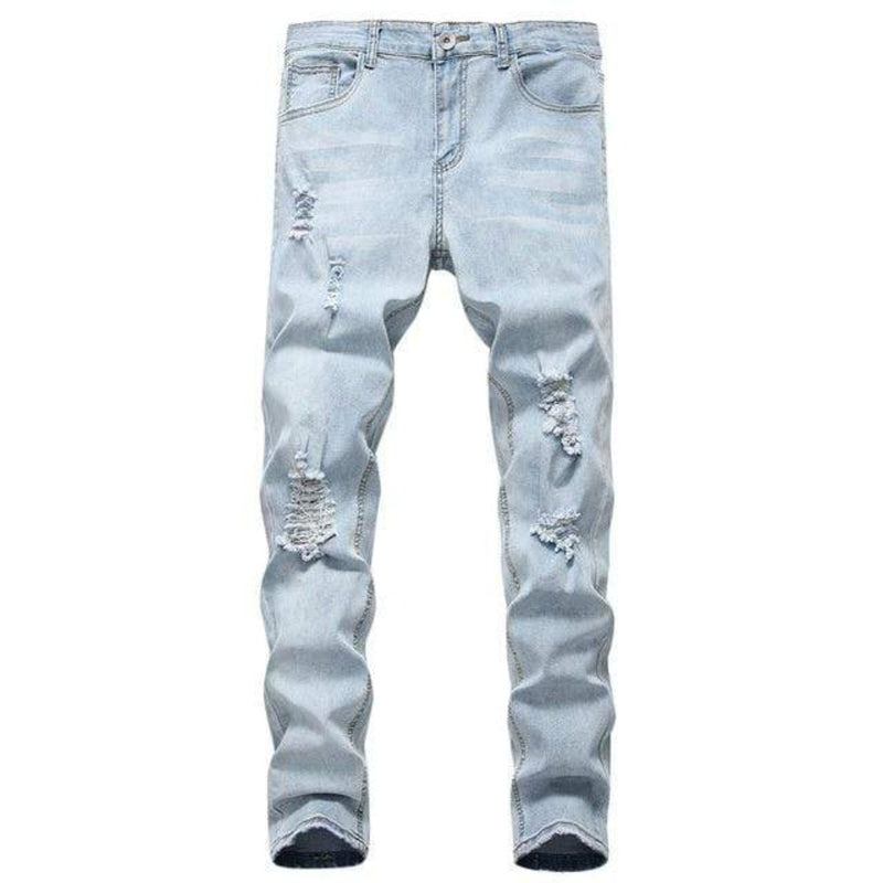 Epicplacess jeans Blue / L / United States Follow The Vibe Distressed Skinny Jean - Medium Wash