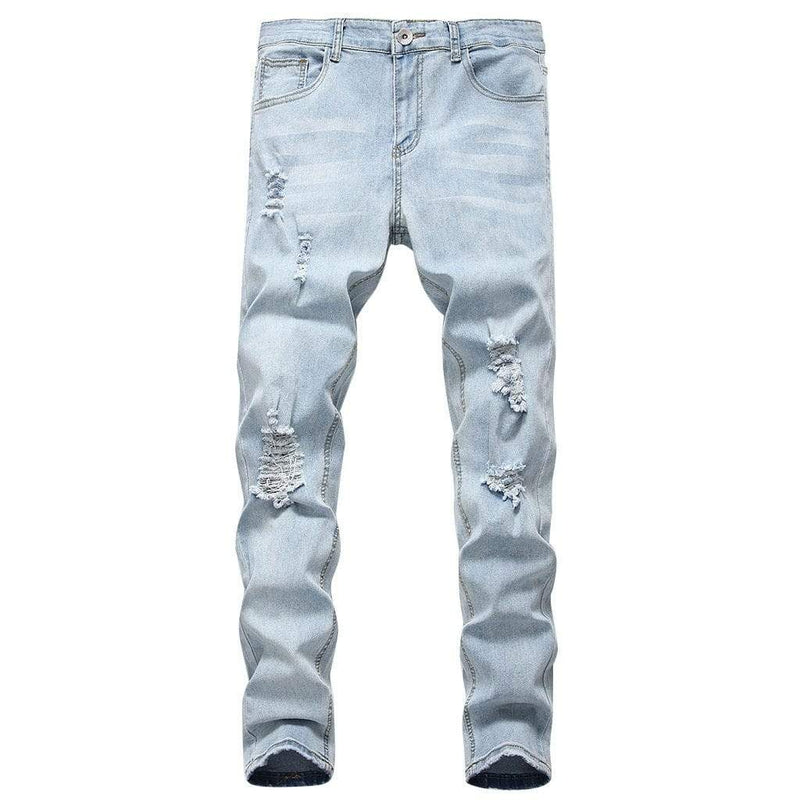 Epicplacess jeans Follow The Vibe Distressed Skinny Jean - Medium Wash