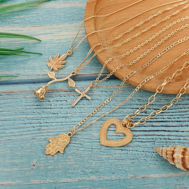 Epicplacess Jewelry It's All For You Layered Necklace - Gold