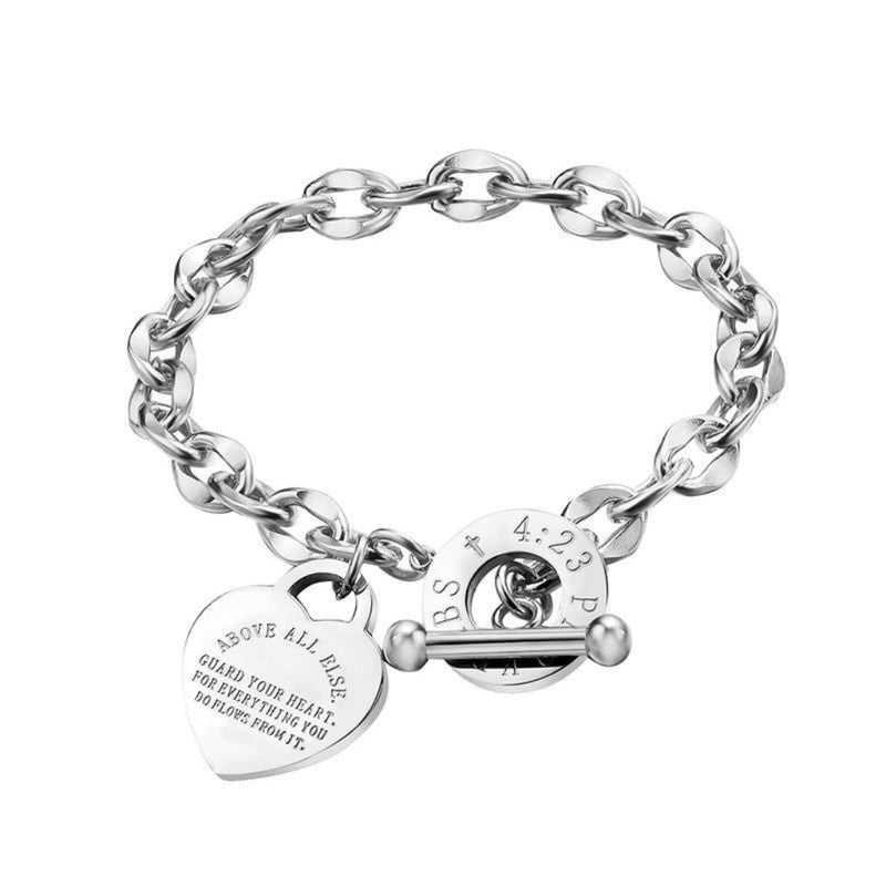 Epicplacess Jewelry silver / United States Eternal Love Rose Gold Bracelet