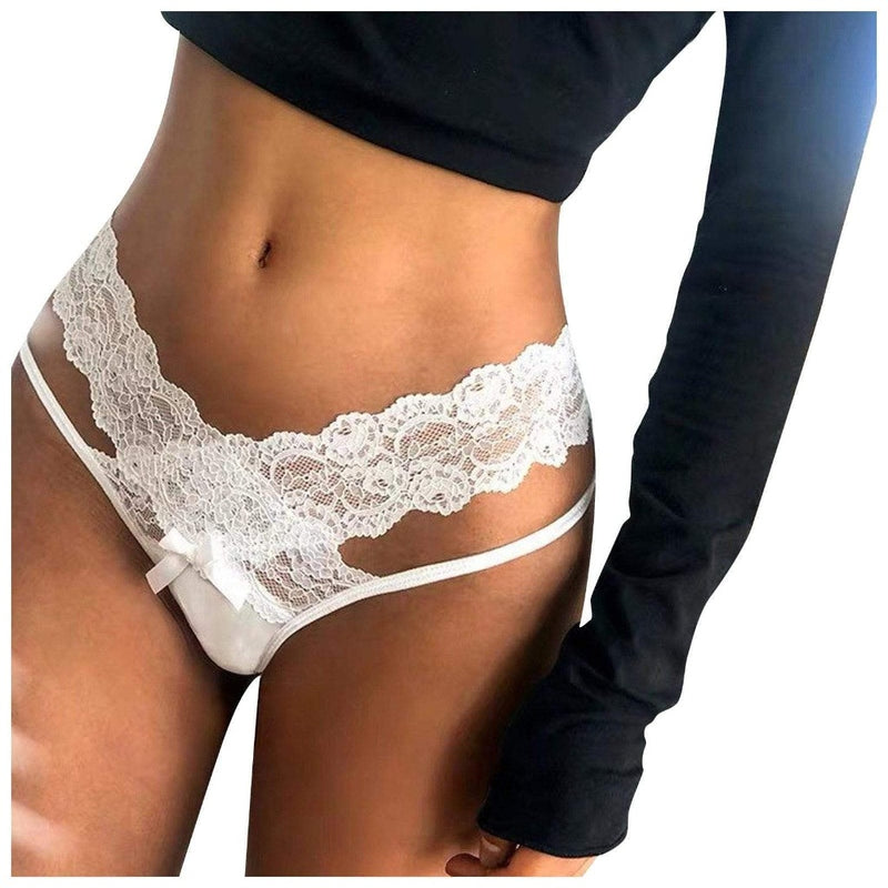 Epicplacess Lingerie Lace Up Hollow Out Lady Panties