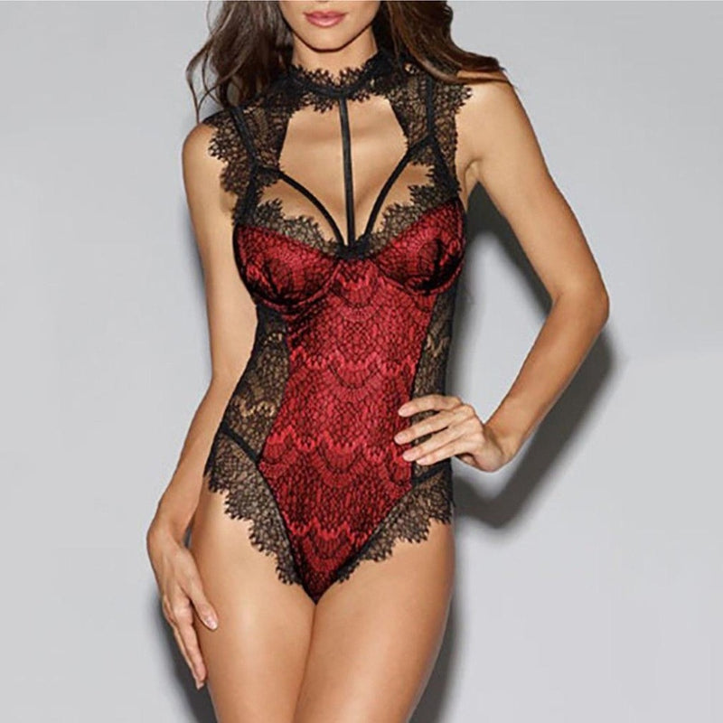 Epicplacess Lingerie Red / S / United States Sleepover Vibes Hot Lingerie