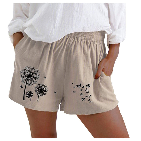 Epicplacess Shorts Brown / S / United States Parker Plus Size Cuff Short