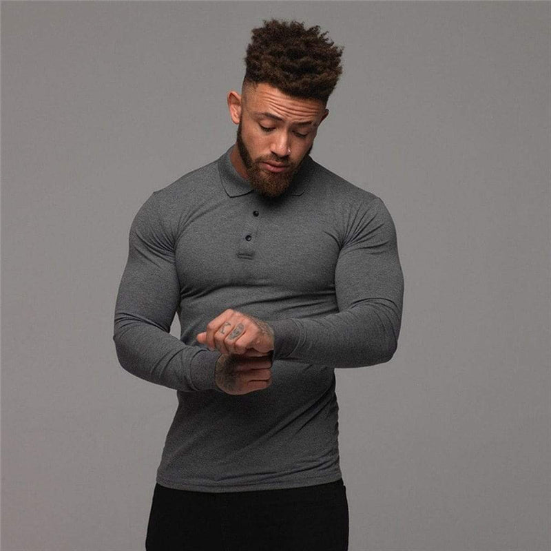 Epicplacess T-Shirts Stretch Tight Long Sleeve Tee