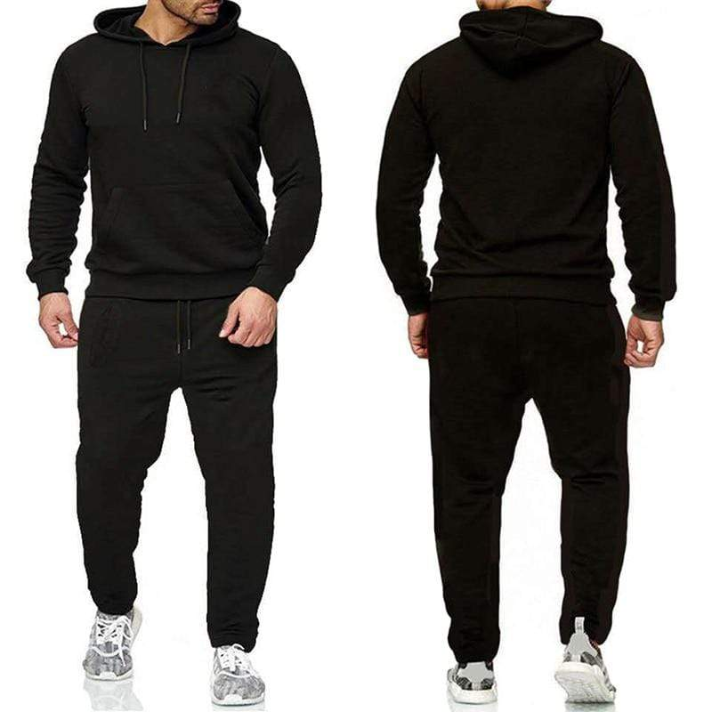 Epicplacess tracksuit Black / S / United States Post CargoHoodie Top & Track Pants