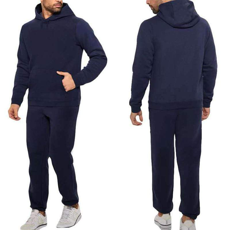 Epicplacess tracksuit Blue / S / United States Post CargoHoodie Top & Track Pants