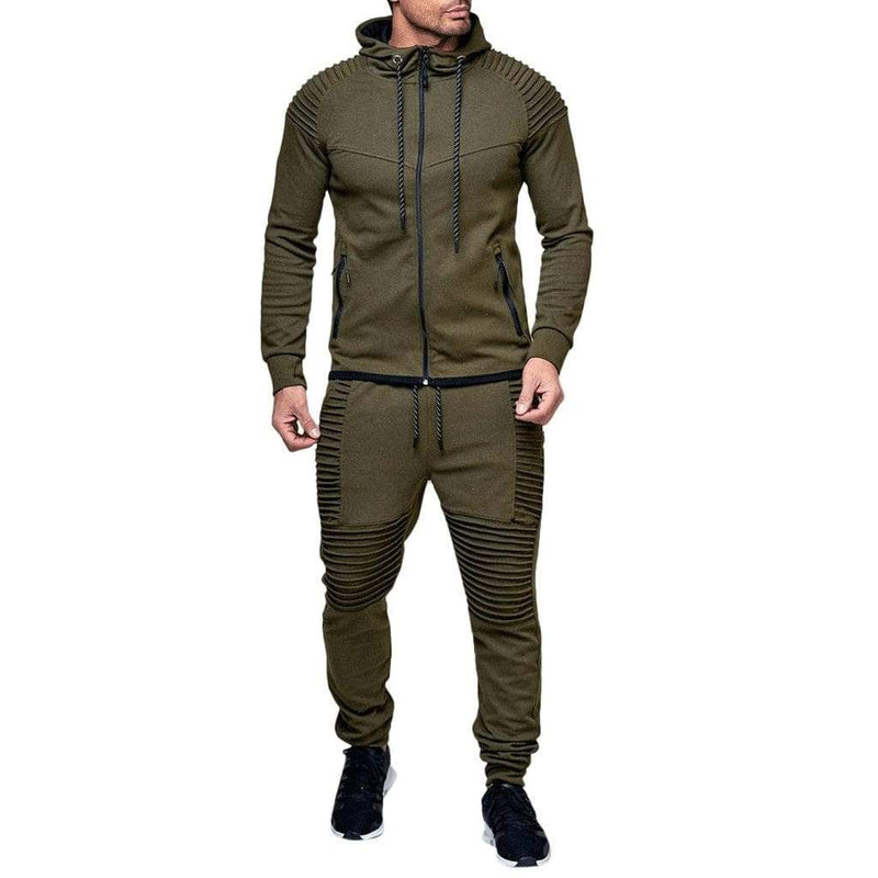 Epicplacess tracksuit Green / M / United States Post Cargo Tracksuit  Stone