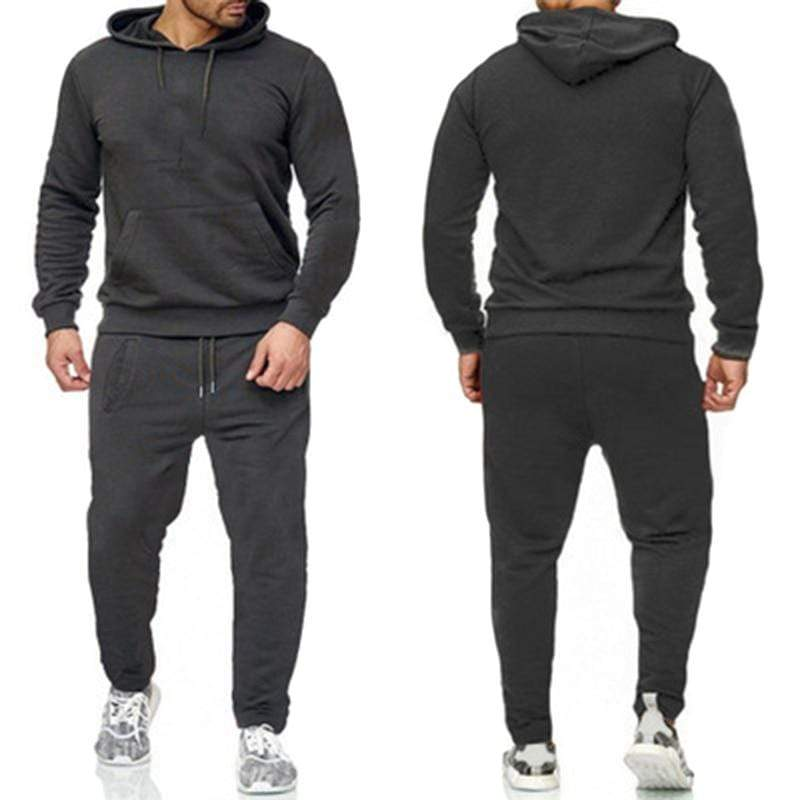 Epicplacess tracksuit Grey / S / United States Post CargoHoodie Top & Track Pants