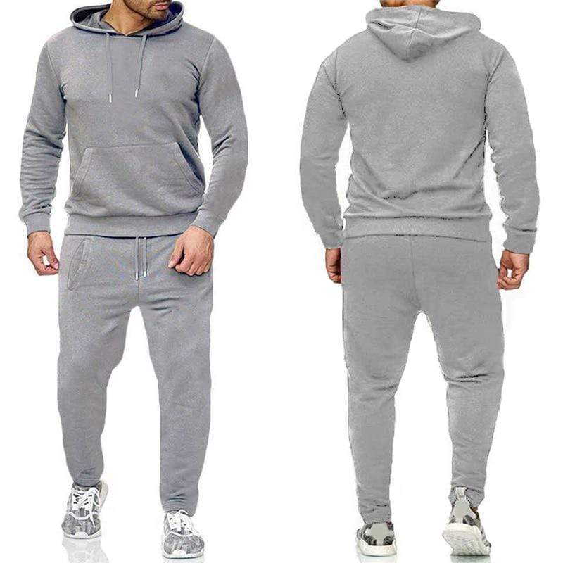 Epicplacess tracksuit Light grey / S / China Post CargoHoodie Top & Track Pants