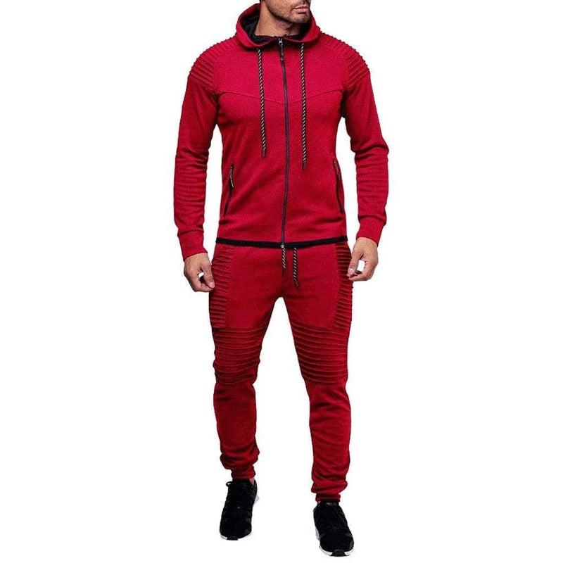 Epicplacess tracksuit Red / M / United States Post Cargo Tracksuit  Stone