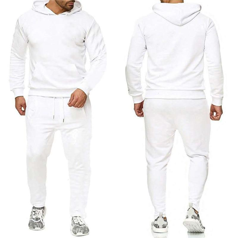 Epicplacess tracksuit White / S / United States Post CargoHoodie Top & Track Pants