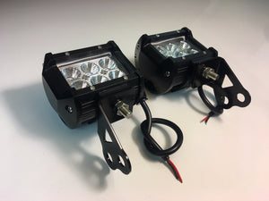 LED pod light with Mounting Bracket RZR 900 XP1K XP1K4 XP1000