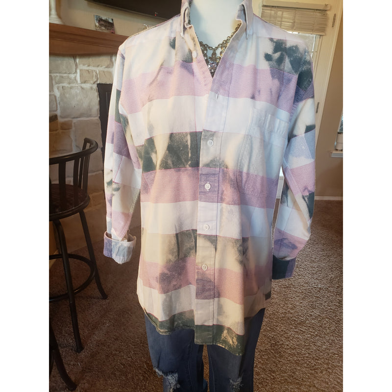 Bleached flannel medium