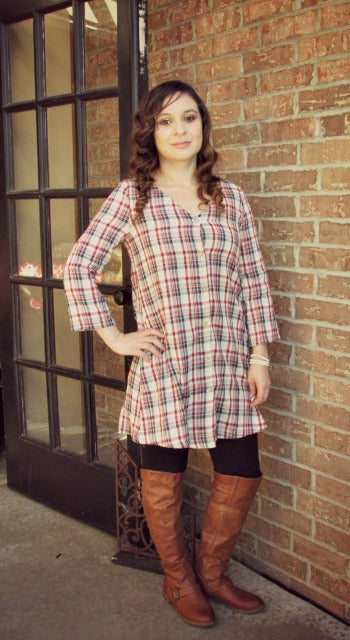 mad for plaid dress