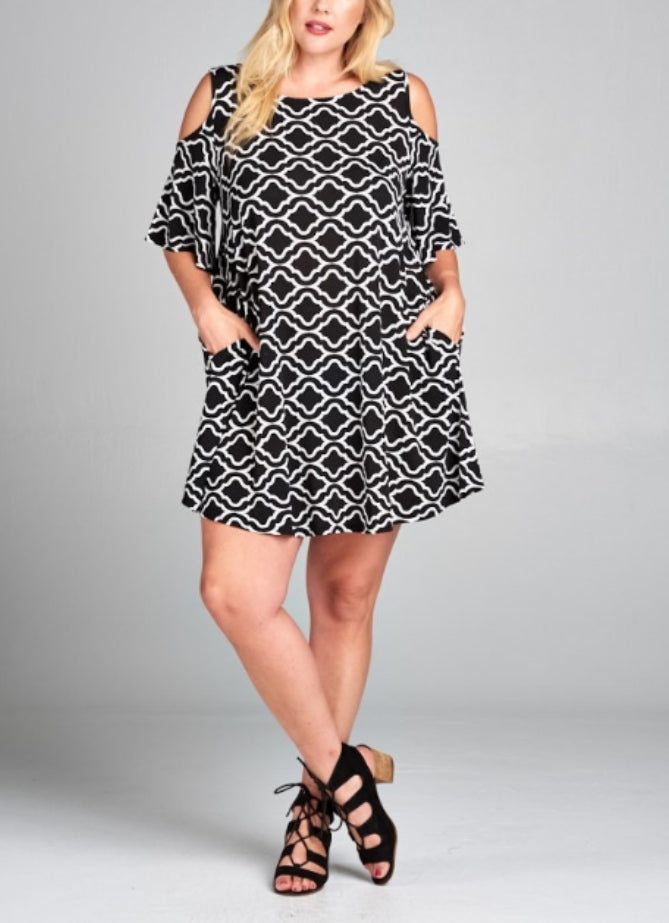 Plus size Emmie dress