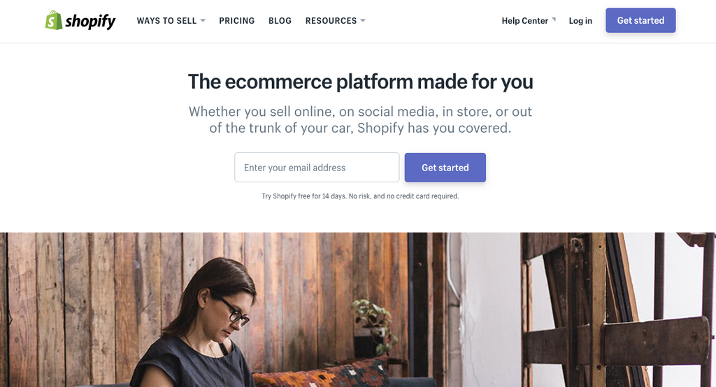 how to build a website on shopify
