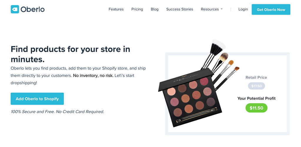oberlo drop shipping for shopify online store