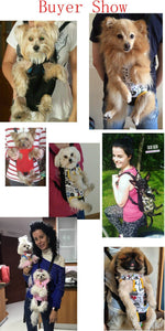 Stylish Dog Backpack Handfree and Comfortable to Carry Pets